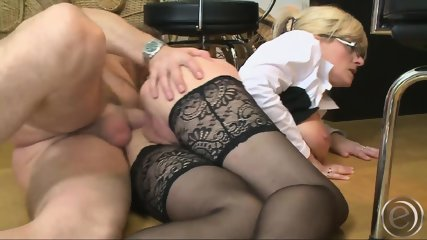Big Breasted MILF Secretary Hammered By Her Boss