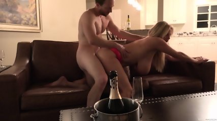 Big Breasted MILF Enjoys Wild Cock Bouncing Session